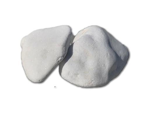 Otoczaki śnieżnobiałe 80-130 mm