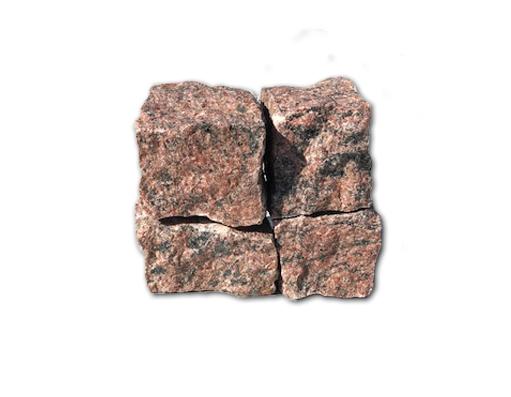 kostka granitowa czerwona (vanga)