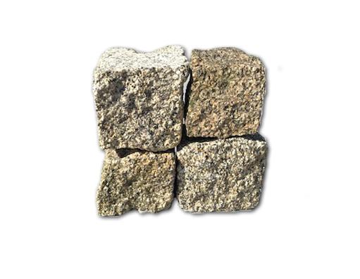 kostka granitowa żółta (gruboziarnista)